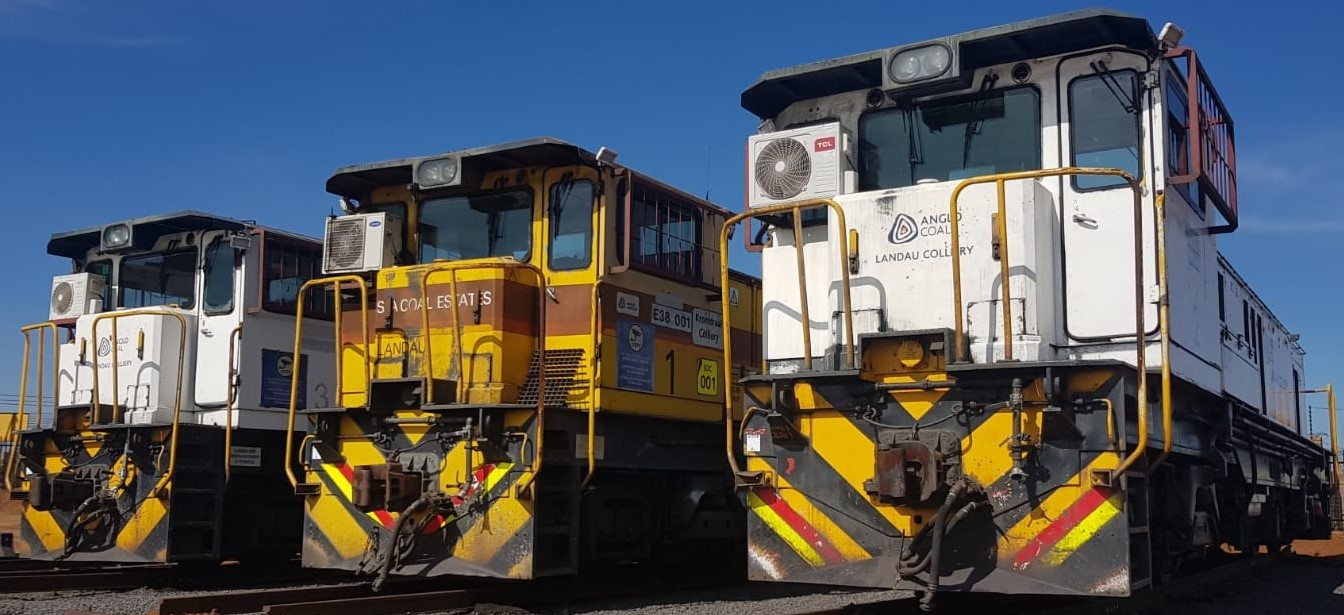 COMPLETE TIMED ONLINE AUCTION OF RAILWAY LOCOMOTIVES, HOPPERS AND SPARES LOCATED IN SOUTH AFRICA