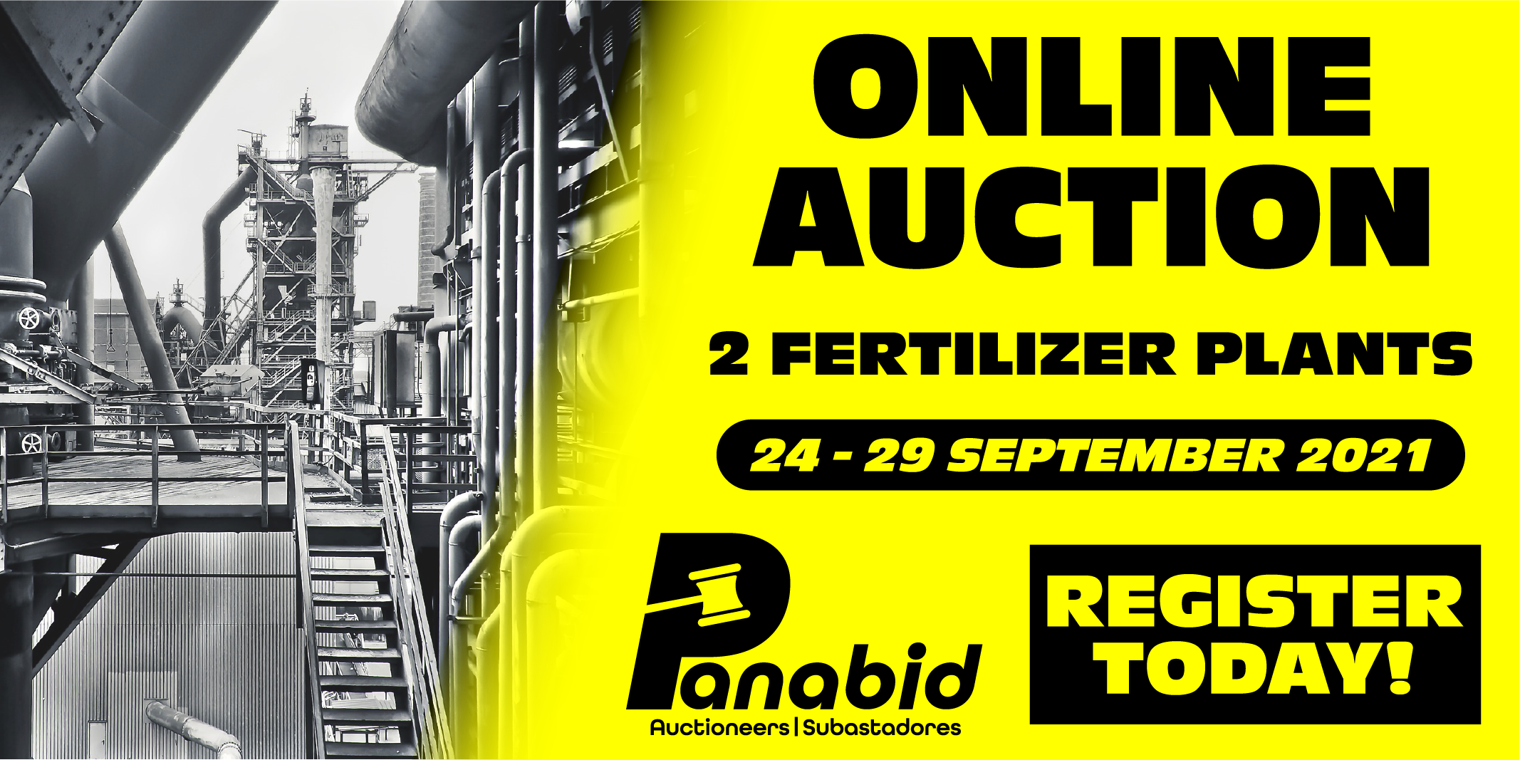 TWO RELOCATABLE FERTILIZER FORMULATION/COATING PLANTS FOR AUCTION LOCATED IN AUSTRALIA
